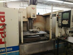 Fadal 4020 Cnc Vmc With Pallet Changer Hydrosweep