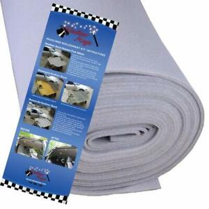 Headliner Magic Backing Gray Fabric Material Auto Car Head Liners Foam Adhesive