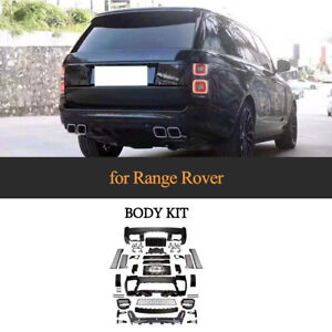For Land Rover Range Rover 18up Car Body Kit Front Rear Bumper Side Skirts Grill