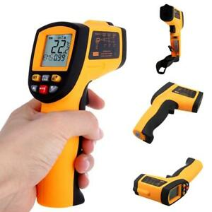Non contact Digital Ir Infrared Thermometer Handheld 50 C To 900 C Rlwh 02