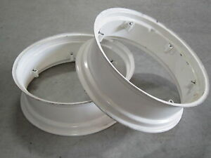 2 Wheel Rims 9x28 For Ih International 434 444 B 250 B 275 B 276 Farmall 240 300