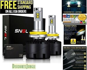 Sngl Led Headlight Conversion Kit H11 9005 9006 H13 H4 H7 H9 D2s 9007 Low Beam