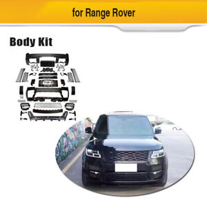 For Land Rover Range Rover 18up Car Full Body Kit Side Skirts Front Rear Bumper
