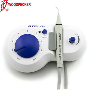 Woodpecker Original Dental Dte D1 Ultrasonic Scaler Handpiece 110v Blue