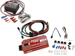 Msd 6425 Digital 6al Ignition Control Box W Rev Control 8732 2 step Combo Kit