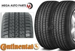 2 Continental 4x4 Contact 265 60r18 110v All Season Touring Tires For Suv Cuv