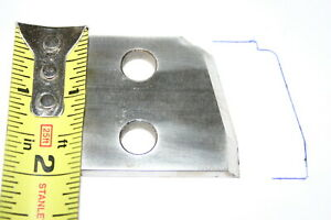 Williams Hussey Wood Molder Cutting Knives