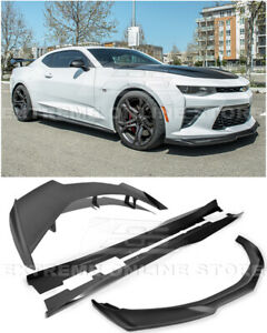 Eos For 16 up Camaro Zl1 Style Front Splitter Lip Side Skirt Rear Wing Spoiler