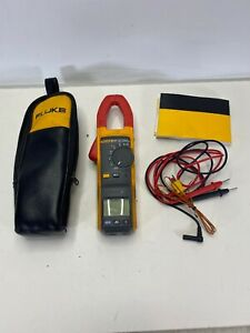 381 Fluke Remote Display Trms Clamp Meter With Regular Leads Case