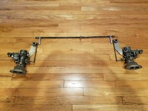 Weber Itc 34mm Dual Carb And Linkage Vw Ghia Off Road Beetle Buggy Tipo