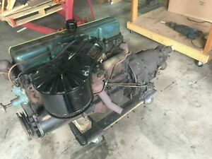1960 Chevy 235 L6 Straight 6 Cylinder Engine W Powerglide Transmission