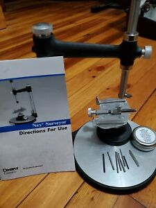 Dentsply Ney Surveyor Dental Lab Kit With Manual And Table All Parts Included