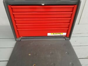 Snap on Krp825 Fod Travel Tool Chest Box 5 Drawer Portable