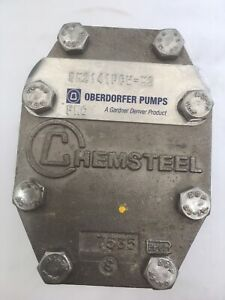 Oberdorfer Chemsteel Stainless Steel Gear Pump Sm2141fch m1 Never Used