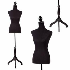 Mannequin Torso Dress Form Sewing Female Display Forms Adjustable Body Stand