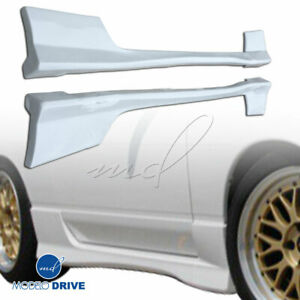 Modelodrive Frp Type x Side Skirts 2 3dr For Nissan 240sx 89 94