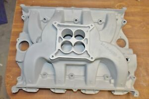 Ford 427 High Riser 1x4 Intake Looks To Be Nos Galaxie Fairlane Race Car Etc