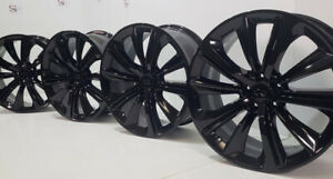 20 Infiniti Red Sport Q60 Q50 Q70 M56 Factory Oem Rims Wheels Black Infinity