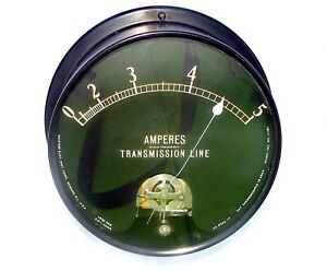Weston Electric Radio Frequency Transmission Line Model 252 No 11181 Panel Meter