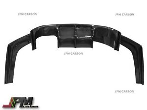 Carbon Fiber Rear Diffuser Lip Gt Style For 2015 2016 Bmw F80 M3 F82 M4 Only
