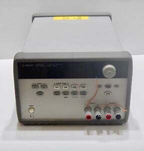 Agilent E3646a Dual Output Dc Power Supply 0 8v 3a 0 20v 1 5a