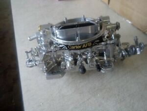 Afb Carter Ford Rebuilt 625 Cfm Carburetor With M Choke Live Video