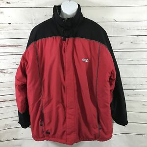 Charles River Mens Coca Cola Jacket Red Black Size 2XL