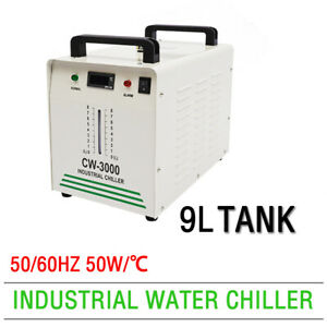 Cw3000 Chiller Industrial Water For Cnc Machine electric Cooling Spindle Ac110v