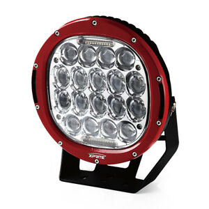 Xprite 9 Inch 95w Cree 30 Led Work Light Driving Spot Beam Combo Round Lamp