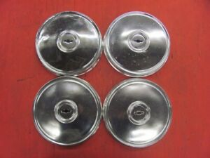 Set Of 4 Chevy Chevette Poverty Dog Dish Hubcaps Hub Caps 9 1 1 16