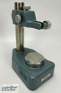 Mitutoyo No 7004 Dial Gage Stand Comparator Inspection Base Indicator