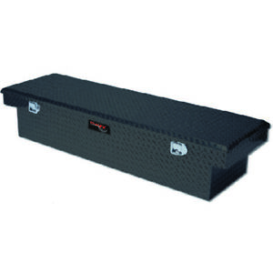 Diamond Black Single Lid Standard Crossover Truck Tool Box 69x13 5x19 25in