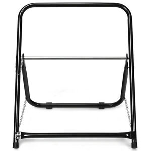 Steel Cable Caddy Cable Holder Axle Industrial Grade Wire Dispenser Black