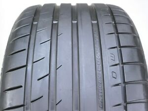 Continental Extremecontact Dw Tuned 285 40r17 Zr 100w Used Tire 7 8 32