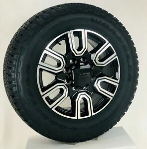 New 2020 Takeoff 20 Gmc Sierra At4 2500 3500 Black Wheels Goodyear A T Tires