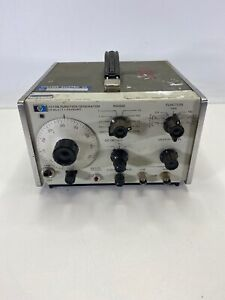 Hp 3310b Function Generator 0 0005hz To 5mhz Parts Or Repair