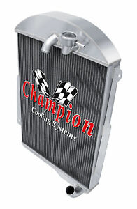 3 Row Reliable Champion Radiator For 1939 Chevrolet Master 85 L6 Engine Cc39 6