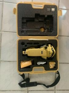 Topcon Dt 207 7 Second Advance Digital Theodolite With Dual Display