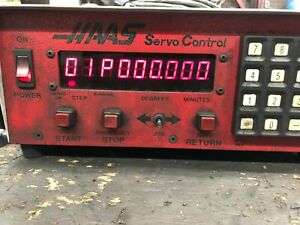 Haas 4th Axis 5c Collet Indexer W Servo Box
