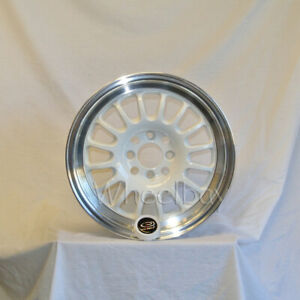 4 Rota Wheel Track R 16x7 4x100 40 67 1 White With Polish Lip
