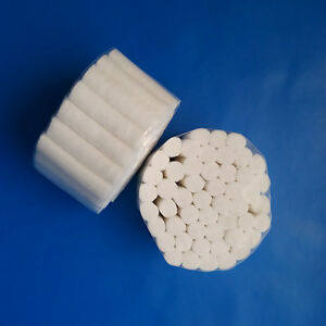 20 Packs 50 Rolls Dental Disposable Cotton Rolls Materials Tooth Tools White