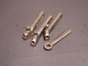 3 Atlas Logan South Bend Lathe Armstrong Turning Tool Holders Wrench