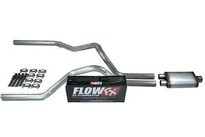 Chevy Gmc 1500 Truck 99 06 2 5 Dual Exhaust Kits Flowmaster Flow Fx