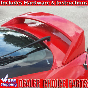 For Hyundai Tiburon 2003 2008 Factory High Style Spoiler Wing W led Unpainted