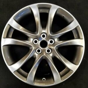 New 19 Hyper Silver Wheel For 2014 2016 Mazda 6 Factory Oem Quality 64958c