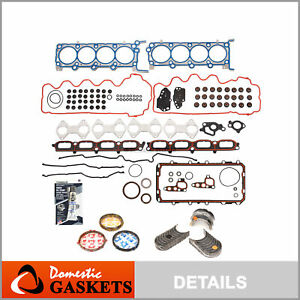 Engine Re Ring Kit Fit 07 12 Lincoln Ford Expedition F150 F250 5 4 Triton 24v
