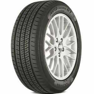4 Yokohama Avid Ascend Gt 195 65r15 91h All season Tires 65k Mileage Warranty