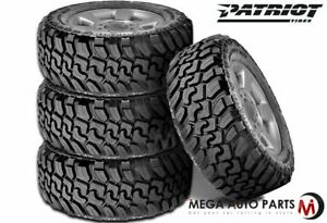 4 Patriot Mt Lt285 75r16 10p 126 123q All Terrain Truck On off road Mud M t Tire