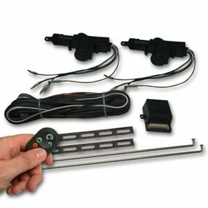 Autoloc Autck2000 2 Door Remote Central Lock Kit With Remotes