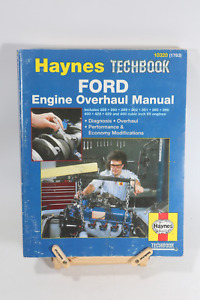 Ford 255 260 389 302 351 360 390 400 428 429 460 Engine Overhaul Service Manual